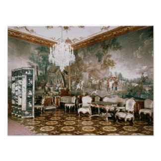 The Napoleon Room at Schonbrunn Palace Poster