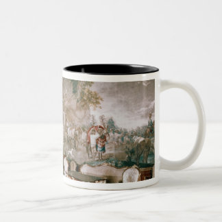The Napoleon Room at Schonbrunn Palace Two-Tone Coffee Mug