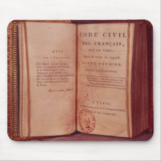 The Napoleonic Code Mouse Mat
