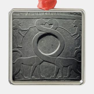 The Narmer Palette Christmas Ornament