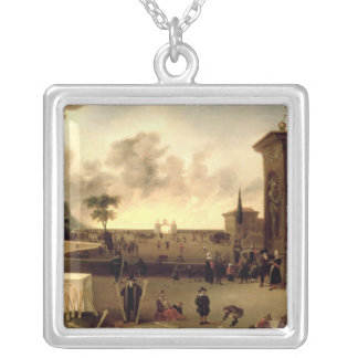 The Narrow Gate to Heaven Silver Plated Necklace