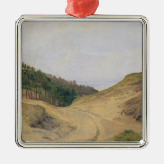 The Narrow Pass at Blankenese, 1840 Christmas Ornament
