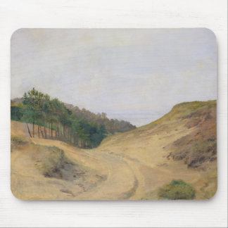 The Narrow Pass at Blankenese, 1840 Mouse Pad