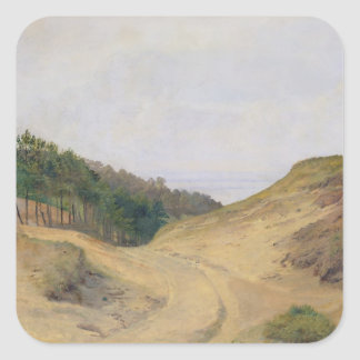 The Narrow Pass at Blankenese, 1840 Stickers
