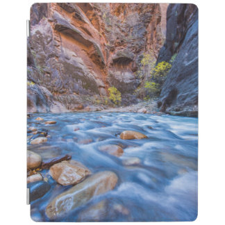 The Narrows Of The Virgin River In Autumn 3 iPad Cover