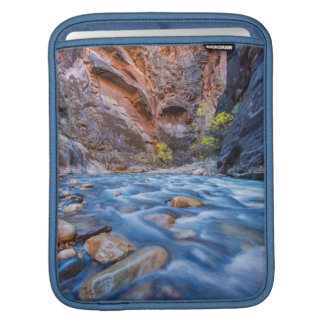 The Narrows Of The Virgin River In Autumn 3 iPad Sleeves