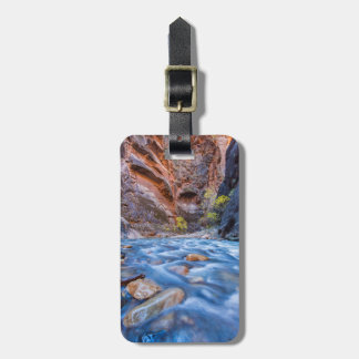 The Narrows Of The Virgin River In Autumn 3 Luggage Tag