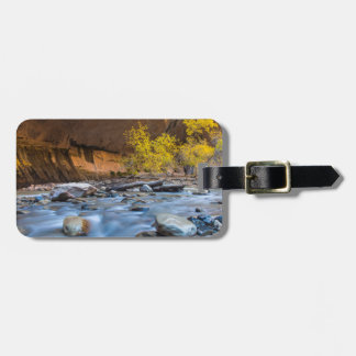 The Narrows Of The Virgin River In Autumn Luggage Tag