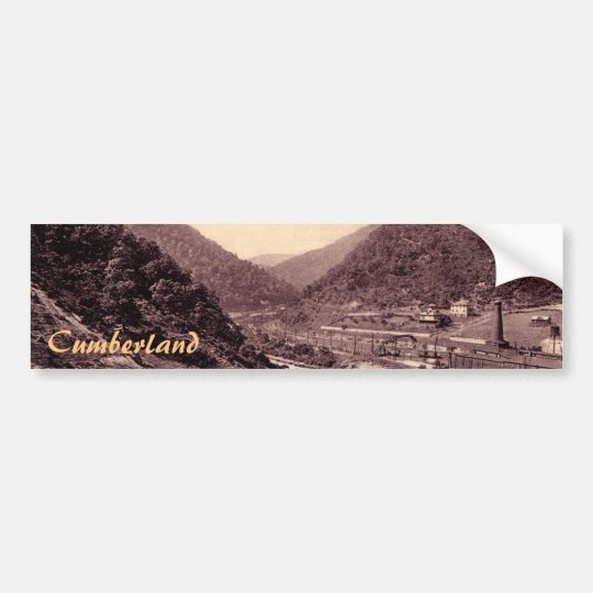 The Narrows Vintage Cumberland Bumper Sticker