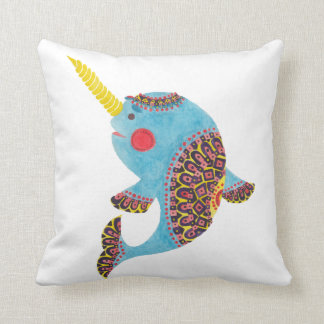 The Narwhal Cushion