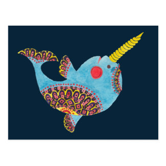 The Narwhal Postcard