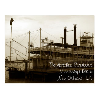 The Natchez Steamboat, New Orleans, Louisiana Postcard