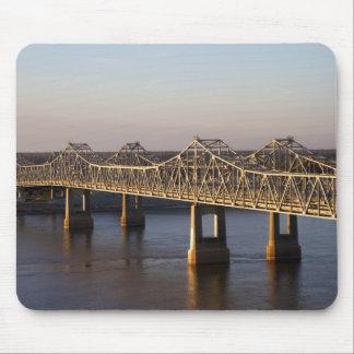 The Natchez-Vidalia Bridges spanning the Mouse Mat