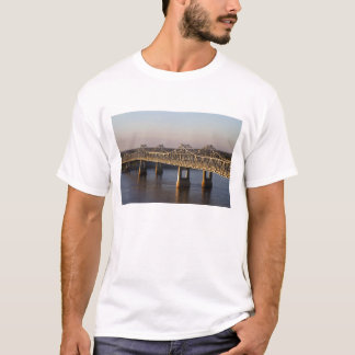 The Natchez-Vidalia Bridges spanning the T-Shirt