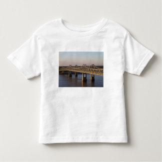 The Natchez-Vidalia Bridges spanning the Tee Shirt