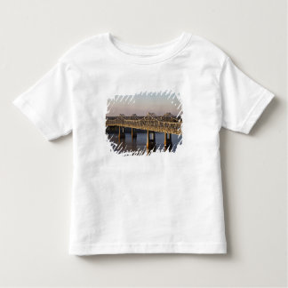The Natchez-Vidalia Bridges spanning the Toddler T-Shirt