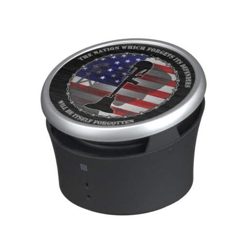 The Nation Which Forgets Its Defenders Bluetooth Speaker