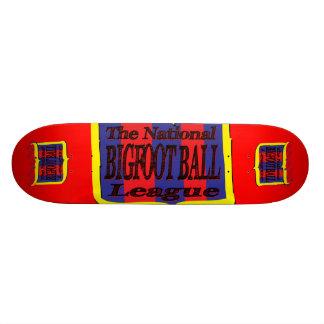 The National Bigfoot Ball League 18.1 Cm Old School Skateboard Deck