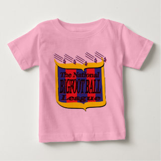 The National BIGFOOT BALL League Star Shield Baby T-Shirt