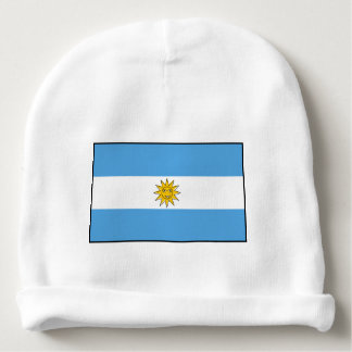 The national flag of Argentina Baby Beanie