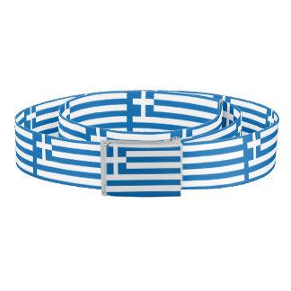 The National flag of Greece Belt