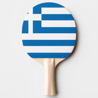 The National flag of Greece Ping Pong Paddle
