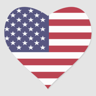 The national flag of the United States of America Stickers