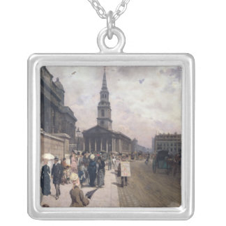 The National Gallery, London Silver Plated Necklace