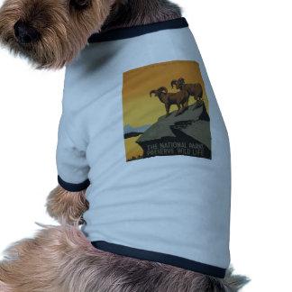 The national parks preserve wild life ringer dog shirt