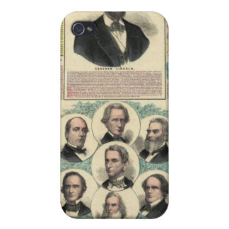 The National Political Chart iPhone 4/4S Case