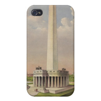 The National Washington Monument in 1885 Case For The iPhone 4