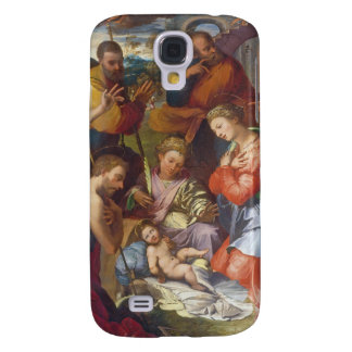 The Nativity, 1534 (oil on panel) Galaxy S4 Case