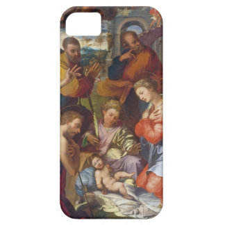 The Nativity, 1534 (oil on panel) iPhone 5 Cases