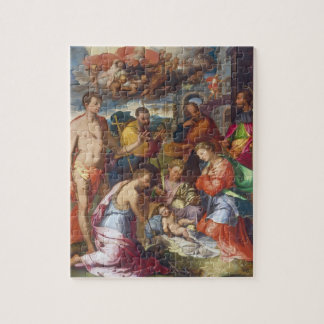 The Nativity, 1534 (oil on panel) Puzzle