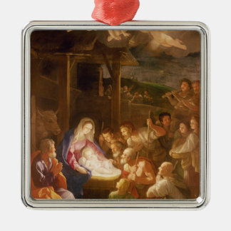 The Nativity at Night, 1640 Christmas Ornament