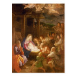 The Nativity at Night, 1640 Post Card