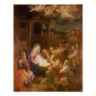 The Nativity at Night, 1640 Poster