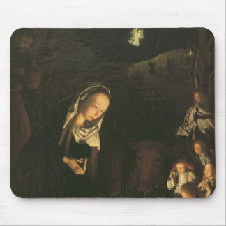 The Nativity at Night Mouse Pad