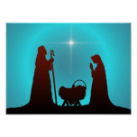 THE NATIVITY by SHARON SHARPE Poster