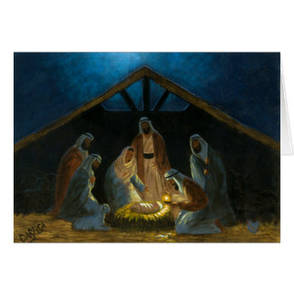 The Nativity Card