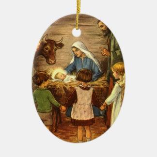 The Nativity - Christmas Ornament