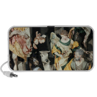 The Nativity, made in Naples Portable Speaker