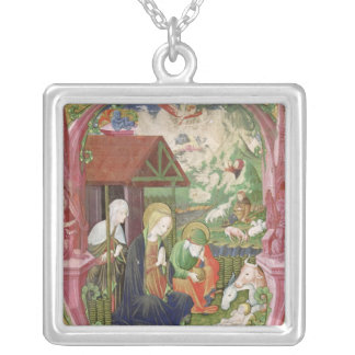 The Nativity, Northern Italian School Silver Plated Necklace
