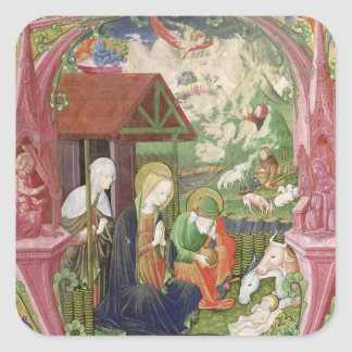 The Nativity, Northern Italian School Square Sticker