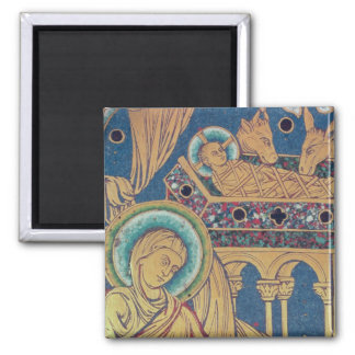 The Nativity, panel from the The Verduner Square Magnet
