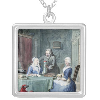 The Naturalist Square Pendant Necklace
