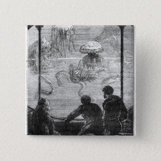 The Nautilus Passengers 15 Cm Square Badge