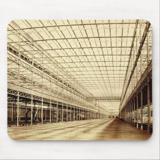 The Nave at Crystal Palace, Hyde Park, March 1852 Mouse Mat