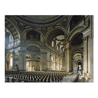 The Nave of St. Paul's Cathedral (photo) Postcard