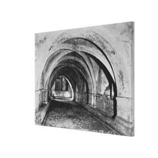 The Nave of the Crypt Canvas Print